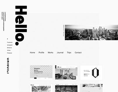Portfolio site Renewal