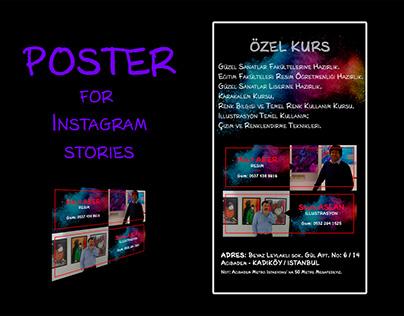 Poster for Instagram