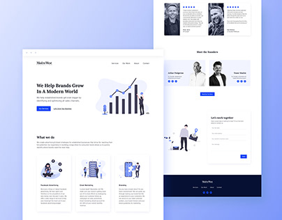 eCommerce Marketing & Acquisition Agency Website