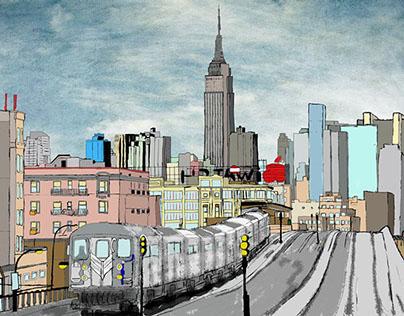 Subway Brooklyn