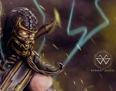 Scorpion Digital Paint