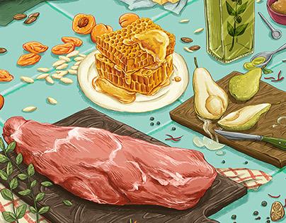 """Edible"" Illustrations"