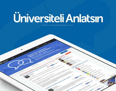 Universiteli Anlatsin | UI-UX Design