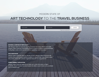 Travel Agency for corporate