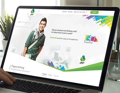 Proposed design For Jawwal Website