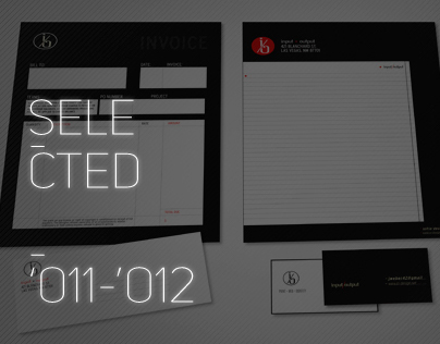 Selected Works '11-'12
