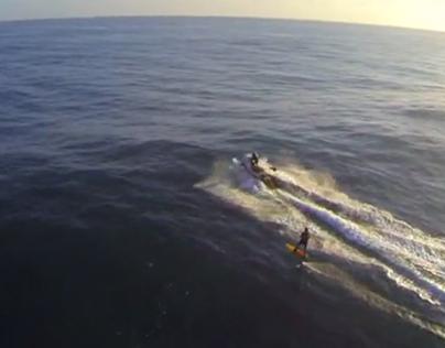 Laird Hamilton Foil Surf, Kauai
