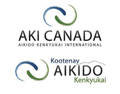 Logo Design for AKI Canada and affiliated dojos.