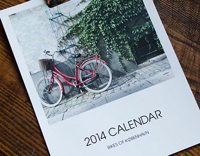 Bikes of København Calendar