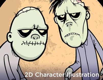 2D Character Design & Illustration