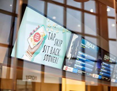 AMC Theatres Sit Back Sooner Campaign