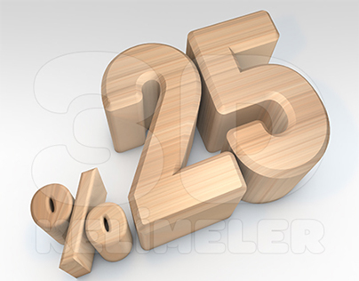 Wooden Percantage Rate