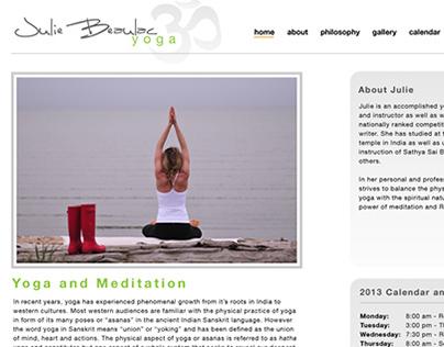 Yoga Website and Branding