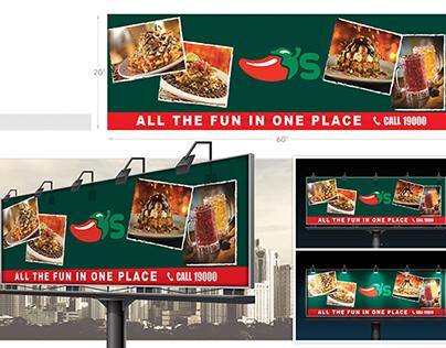 Billboard Street ads (Chili's)