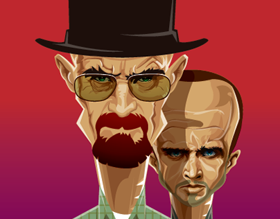 BREAKING BAD Caricature on demand.