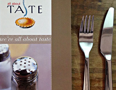 Catálogo para Taste of America, 2010
