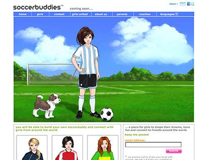 Soccerbuddies Website and Branding