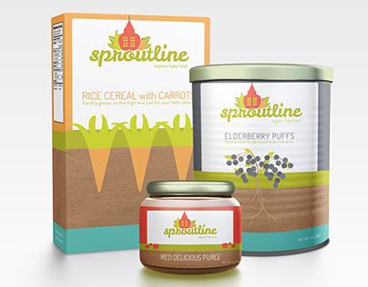 Organic Baby Food Branding