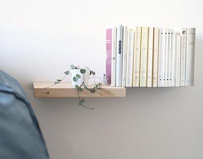 Bookshelf WOUPS