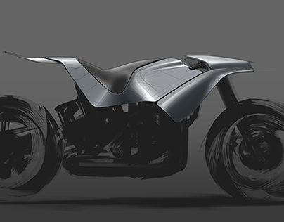 Motorcycle Rendering Exercise