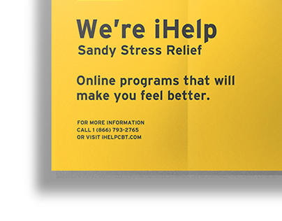 iHELP: Sandy Stress Reflief