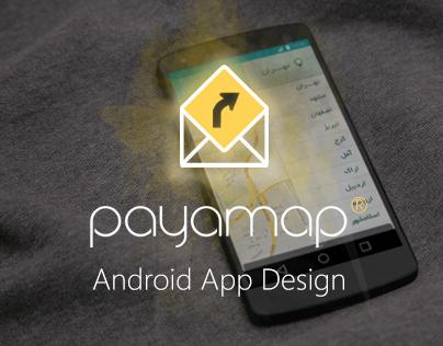 Android App UI Design - Payamap