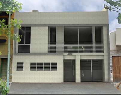 Edificio Tamborini Modelo 3D