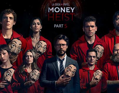 MONEY HEIST POSTER!