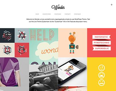 Wonder Wordpress Theme by Themebeans.com