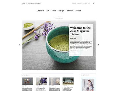 Zuki Wordpress Magazin Theme - By elmastudio.de