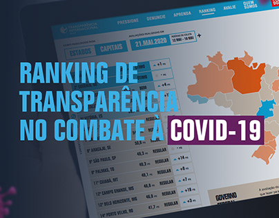 Ranking de Transparência no Combate à COVID-19