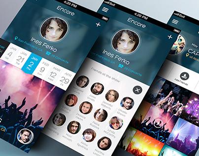 Encore - iPhone App