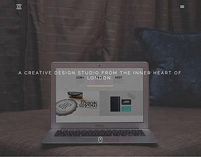 Trinity One Page Wordpress Theme - by: designova.net