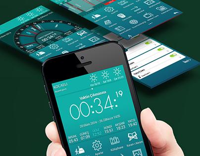 Ezan Vakti Pro New UI Design