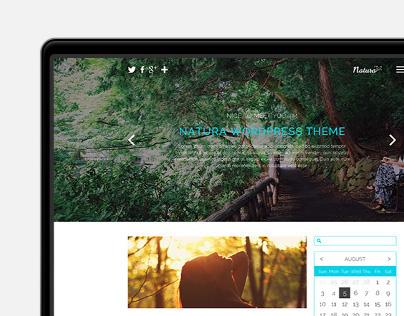 Natura | Clean WordPress Theme (WIP)