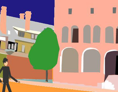 Providence animated postcard