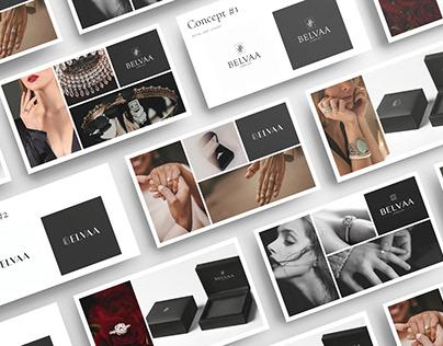 Diamond Jewelry Luxury Branding Design