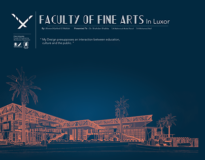 Faculty Of Fine Arts in Luxor