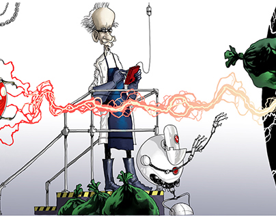 The Mad Scientist is Out Of Ideas: A Picture Book