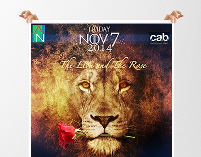 The Lion and the Rose Poster