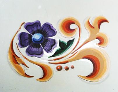 Fileteado Porteño Paintings