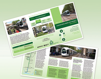 Hurontario-Main LRT Project Print Materials