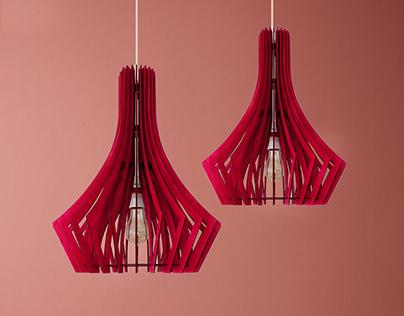 Gorgeous Pendant Light, Large wood lamp, ceiling light