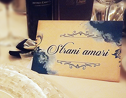 WEDDING GRAPHIC - Laura Pausini Theme