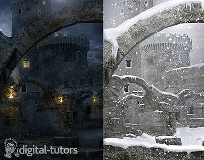Matte Painting Different Atmospheric Conditions