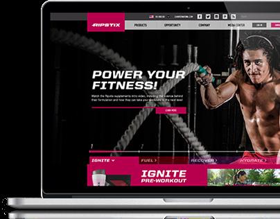 Ripstix Fitness Website