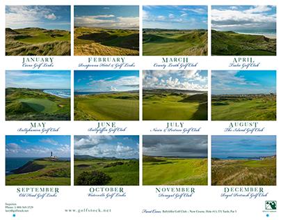 Emerald Gems 2015 Golf Calendar