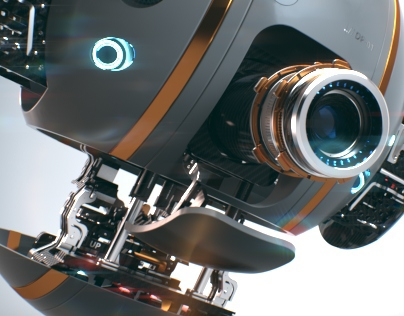 Droid. 3d modeling