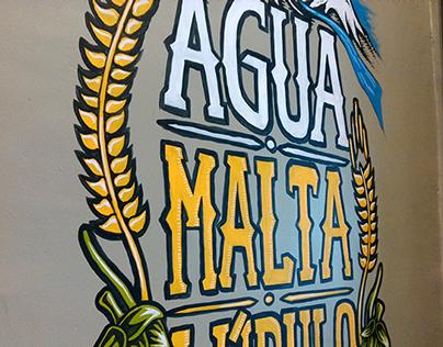 """Mural """"Club de Cervezas"""" 02"""