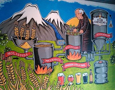 """Mural """"Club de Cervezas"""" 03"""